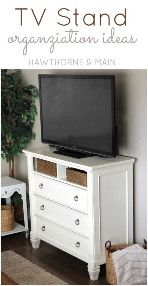 Tv Console Table Tv Console Table Gets More Storage Hawthorne And