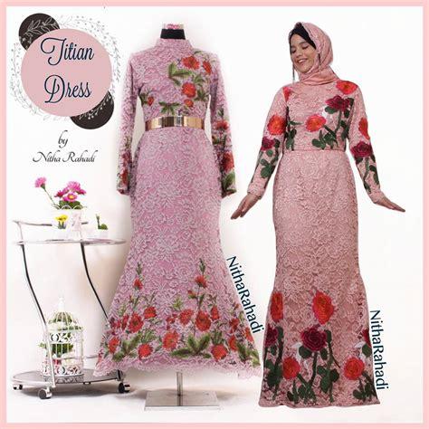 Model Baju Muslim Sederhana 14 Kumpulan Gamis Pesta Terbaru 28 Images Gamis