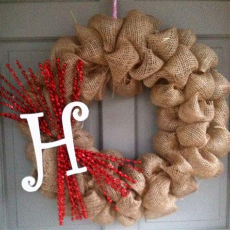 easy wreaths to make burlap wreath easy to make