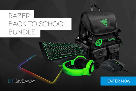 Razer Sweepstakes - dt giveaway razer back to school bundle digital trends
