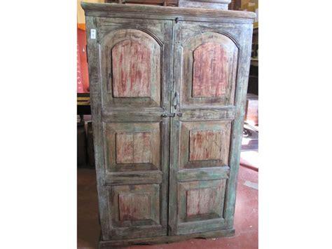 mobili dipinti antichi armadio india gujarat legno sheesham antiquariato