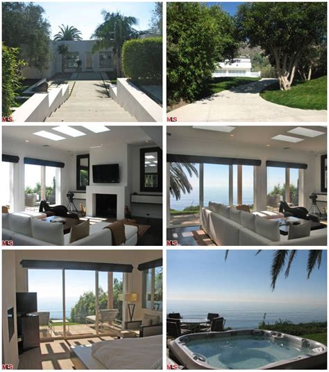leonardo dicaprio house photos of leonardo dicaprio s ocean front malibu home star