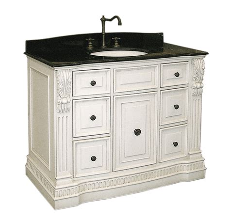 antique white bathroom cabinets antique white vanity cabinet in bathroom vanities