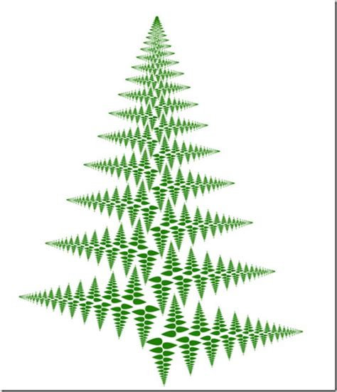 10minutemath a quick fractal christmas tree in illustrator