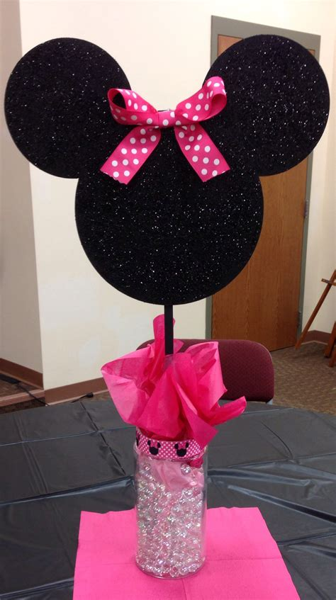 minnie mouse centerpieces birthday decorations