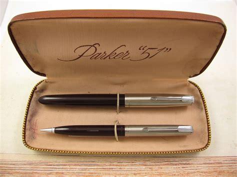 parker 51 hanss vintage pens parker pen set www pixshark com images galleries with