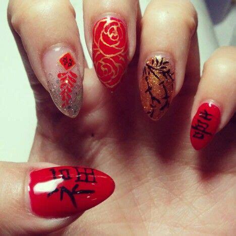 new year gel nail new year nails my nails gel nail