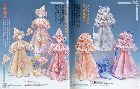Paper Doll Craft Ideas - paper crafts origami dolls