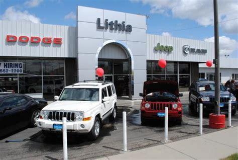Lithia Jeep Billings Lithia Chrysler Jeep Dodge Ram Of Billings Billings Mt