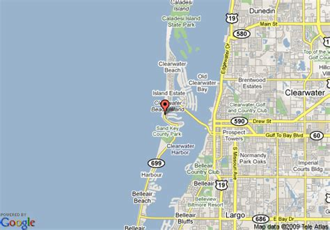 map of clearwater florida anillla clearwater resorts