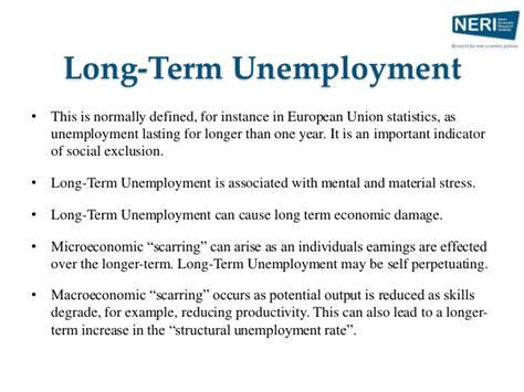 unemployment scarring unemployment and the labour market