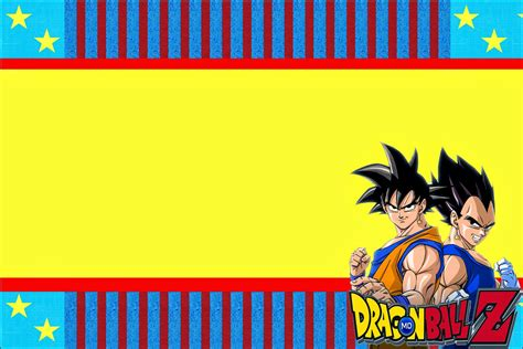 printable naruto birthday invitations dragon ball z free printable invitations is it for