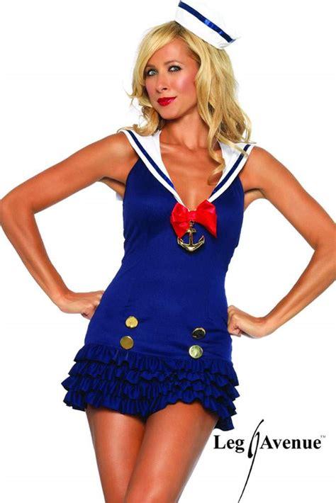 mein schöner garten foto 3763 leg avenue s 252 223 es sailor r 252 schen kost 252 m mini kleid mit
