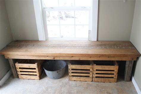 how to build a rustic bench rustic mudroom bench images
