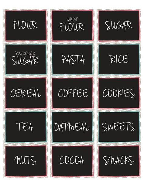 pantry labels ocd pantry labels i