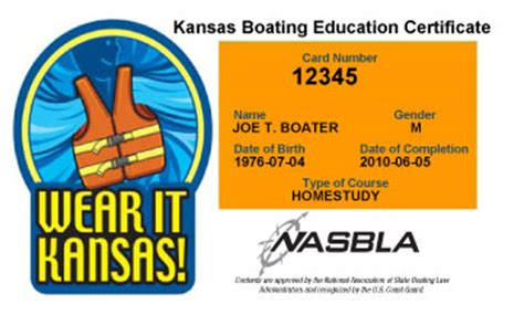 florida boating license nasbla approved kansas boating laws regulations boat ed 174