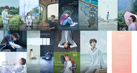 bts love yourself bts love yourself posters translation and details