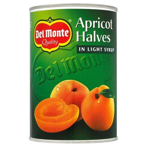 Delmonte In Syrup monte apricot halves in syrup 410g foods direct