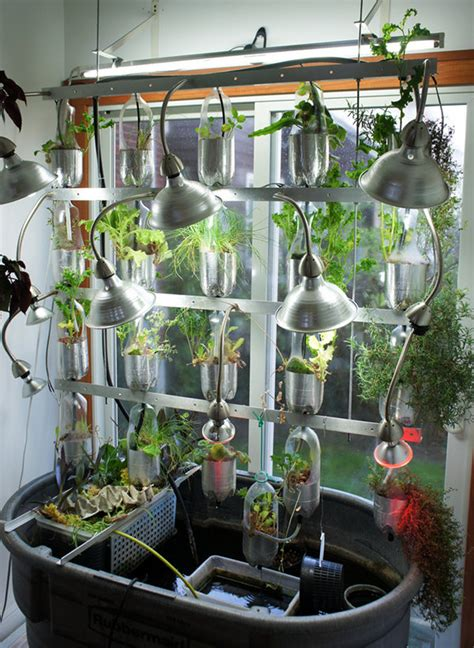 Geeky Gardening How To Grow Vegetables With Green Technology Fish Tank Vegetable Garden