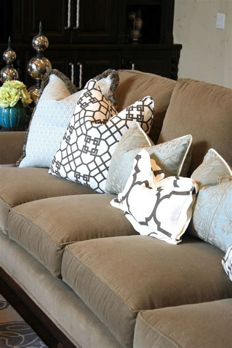 what cushions go with beige sofa 57 best couch pillows images on pinterest