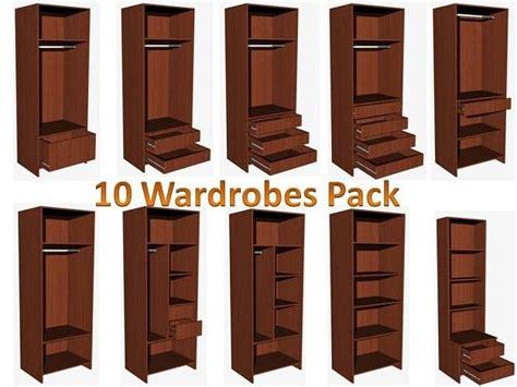 3d wardrobe design 3d wardrobe designs cgtrader
