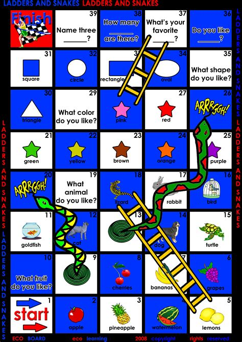 Printable Board Games For Esl | 9 best images of printable esl games fun printable games