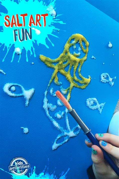 How To Lay Out Kitchen salt art fun process art for your little ones