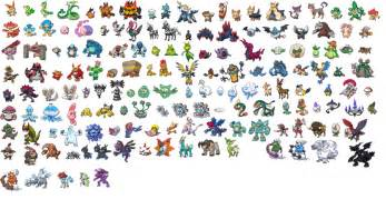 como hacer sprites pokemon taringa