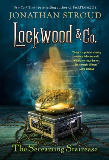 Lockwood Co1 The Screaming Staircase Jonathan Stroud ominous october the screaming staircase lockwood co