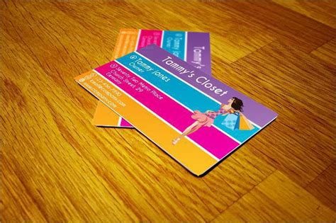Pop Papers Business Cards Template by Fashion Business Cards Free Premium Templates