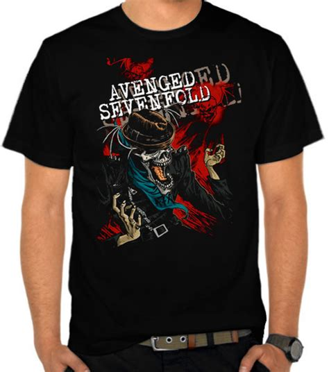 Baju Kaos Band Rock Greenday jual kaos avenged sevenfold 22 avenged sevenfold