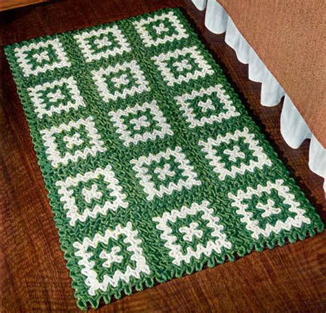 free crochet rug patterns free crocheted rug pattern crochet tutorials