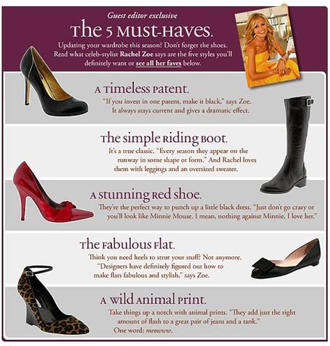 On Our Radar Zoes 5 Must Shoes on our radar zoe s 5 must shoes popsugar