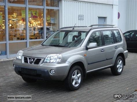2002 nissan x trail photos informations articles