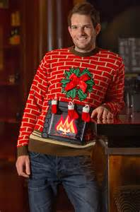 Photos funny gift light up ugly christmas jumper naughty sweater