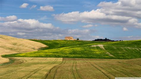 beautiful country farms beautiful fields on a tuscan farm wallpaper nature and