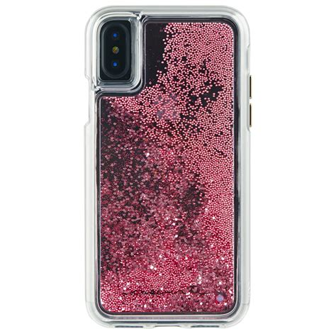 Casing Iphone Gold 6 6s Metal Gold mate tough waterfall for apple iphone x