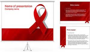 Aids Template by Aids Powerpoint Template Backgrounds Id 0000000452
