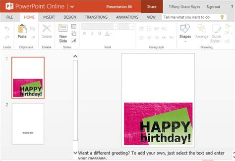 how to switch sides on greeting card template birthday celebrants template just b cause