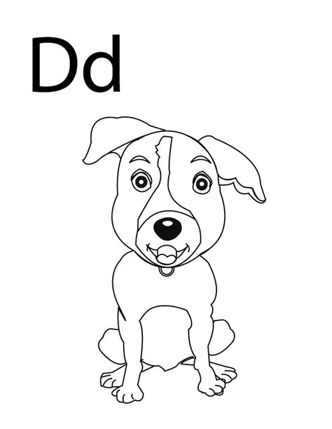 Capital D Coloring Page by Capital Letter D Coloring Page Coloring Pages