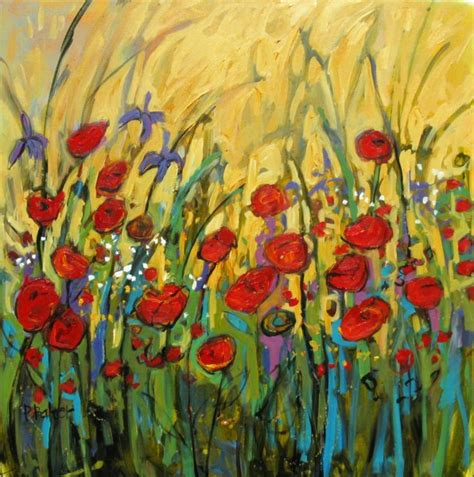 flower garden  yellow ii  feet  paintings