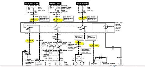 1993 ford explorer radio wiring diagram wiring diagram