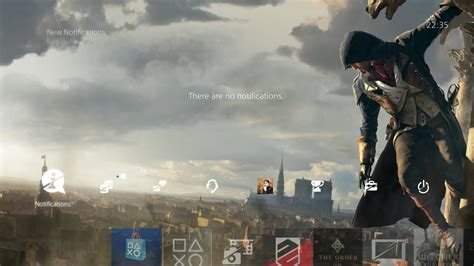 google themes assassin s creed unity ps4 gets new assassin s creed unity dynamic theme
