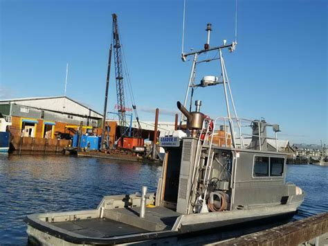 used tug boats for sale bc aluminum shallow draft harbour tug boat