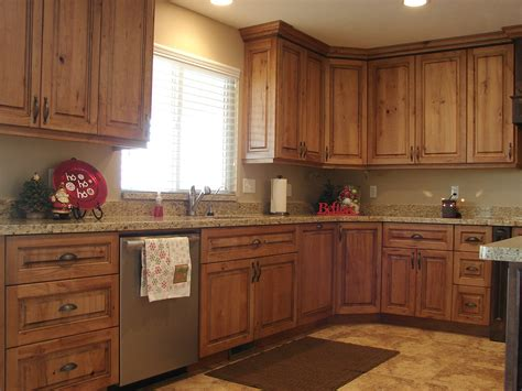 kitchens with cherry cabinets lec cabinets rustic cherry cabinets