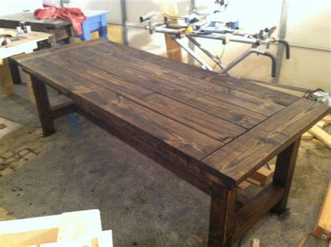 farmhouse dining room table seats 10 10 person farmhouse dining table by sawdustfurniture on