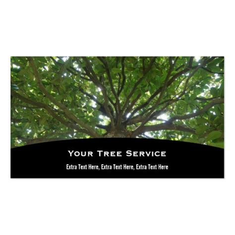 tree removal business card templates 800 tree service business cards and tree service business