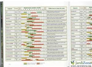calendrier semis belgique jardizone