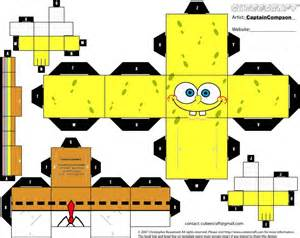How To Make Spongebob With Paper - make your own spongebob spongebob square picture
