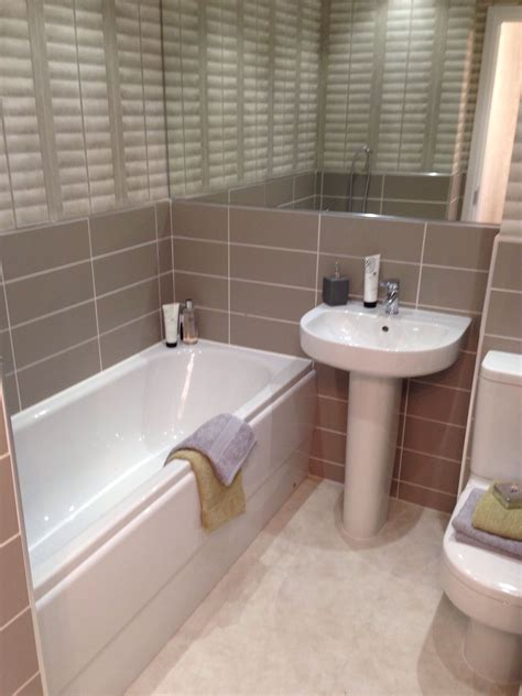 show me bathroom designs show home bathroom barratt homes brown and tiles bathroom